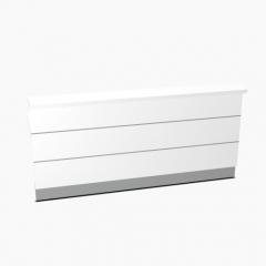 Elément linéaire L. 229 X p. 91,7 X h. 110,5cm - VALDE - MDD - LA23L