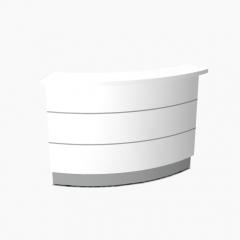Angle 60° intérieur L. 160 x P. 91,7 x H. 110,5cm - VALDE - MDD - LAV64L