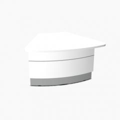 Angle partie basse 60° L. 131,1 x P. 116,5 x H. 74cm - VALDE - MDD  - LAV65L