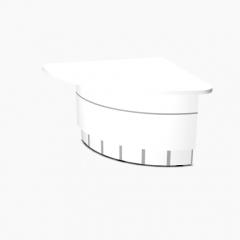 Angle partie basse 90° L. 148,5 x P. 110,9 x H. 74cm - VALDE - MDD - LAV68L