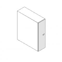 Porte pour monobloc L. 30,6 x P. 2 x H. 109,4cm - VALDE - MDD - LAD10