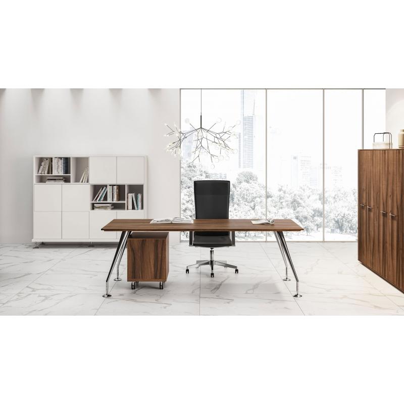 Bureau Rectangulaire Design Suisse Romande Enosi Evo Las Mobili