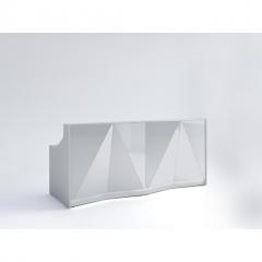 Meuble de réception Alpa - ALP06 - L. 245,6 x P. 94,6 x H. 110cm