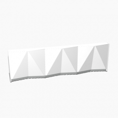 Alpa - MDD - ALP07 - L. 365,6 x P. 94,6 x H. 110cm