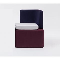 Sofas et poufs modulable Kaiva - petit siège sans cloison - KAV3