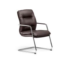 Chaise de réunion Formen en cuir- Las Mobili