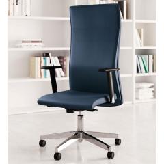 Athena - Chaise de direction cuir moderne - 125 860