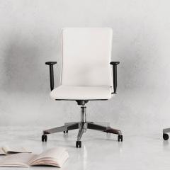 Chaise de réunion sur roulettes - Athena - 125 862