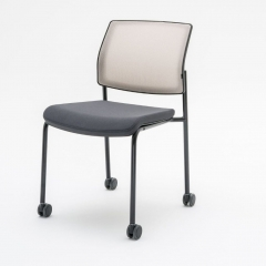 Chaise de réunion sur roulettes professionnelle - Gaya de MDD
