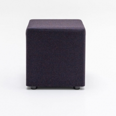 Pouf carré avec patins - Mix de MDD - MX01