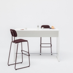 Table haute L. 120 x P. 50 x H. 110cm - MDD - PSW52