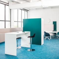 Table haute L. 120 x P. 70 x H. 110cm - MDD - PSW72