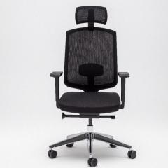 Chaise de bureau ergonomique  avec têtière - Sava de MDD