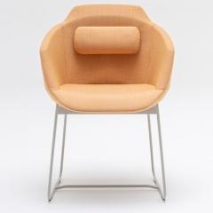 Chaise réuion - pieds traineau - UFP5 - MDD