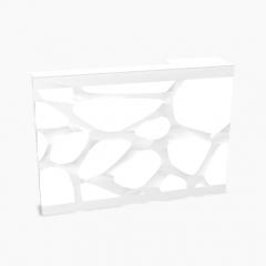 Module façade gauche L. 100 x P. 22 x H. 71cm