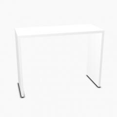 Table L. 100 x P. 40 x H. 74cm