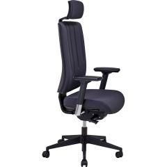 Chaise de bureau Karl avec têtière - 2703 - Sitek