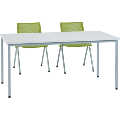 Table poly L. 140 x 70cm