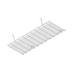 Goulotte bench L. 105 x P. 39,6 x H. 13cm