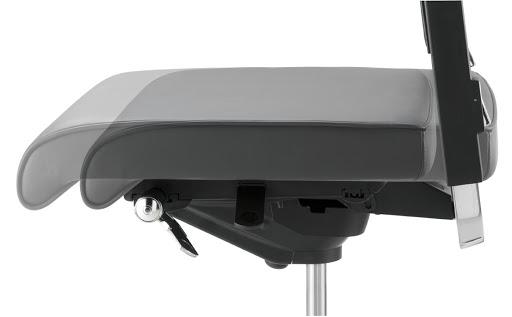 Assise réglable profondeur - Chaise et siège de bureau ergonomique