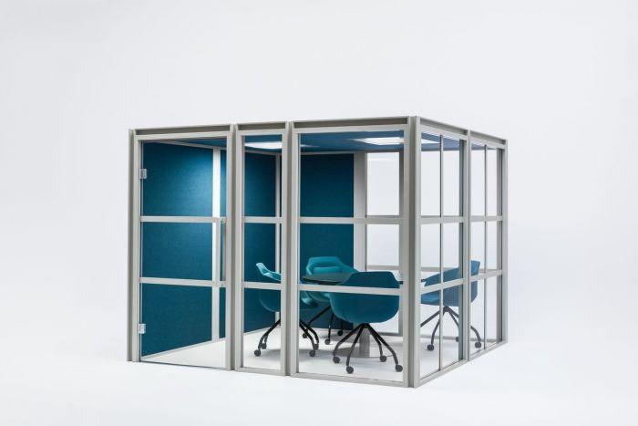 Box de réunion acoustique pour coworking et open space